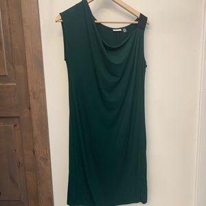 Green DKNY dress